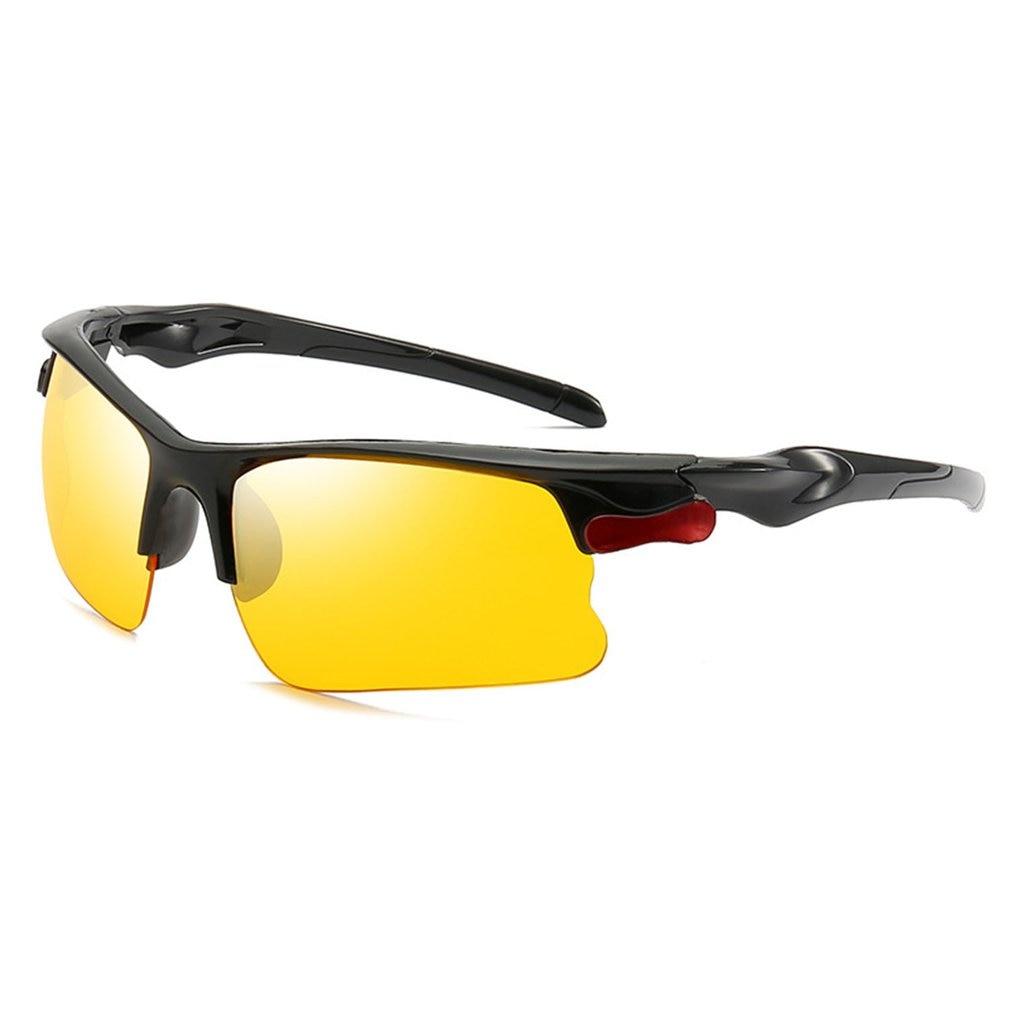 S UV400 HD Night Vision Cycling Riding Driving Glasses Sports Sunglasses Goggles