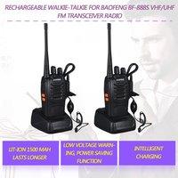 bf 888s 2 PCS Baofeng BF-888S מכשיר הקשר 5W דו כיוונית רדיו נייד CB רדיו UHF 400-520MHz Comunicador משדר משדר (1)