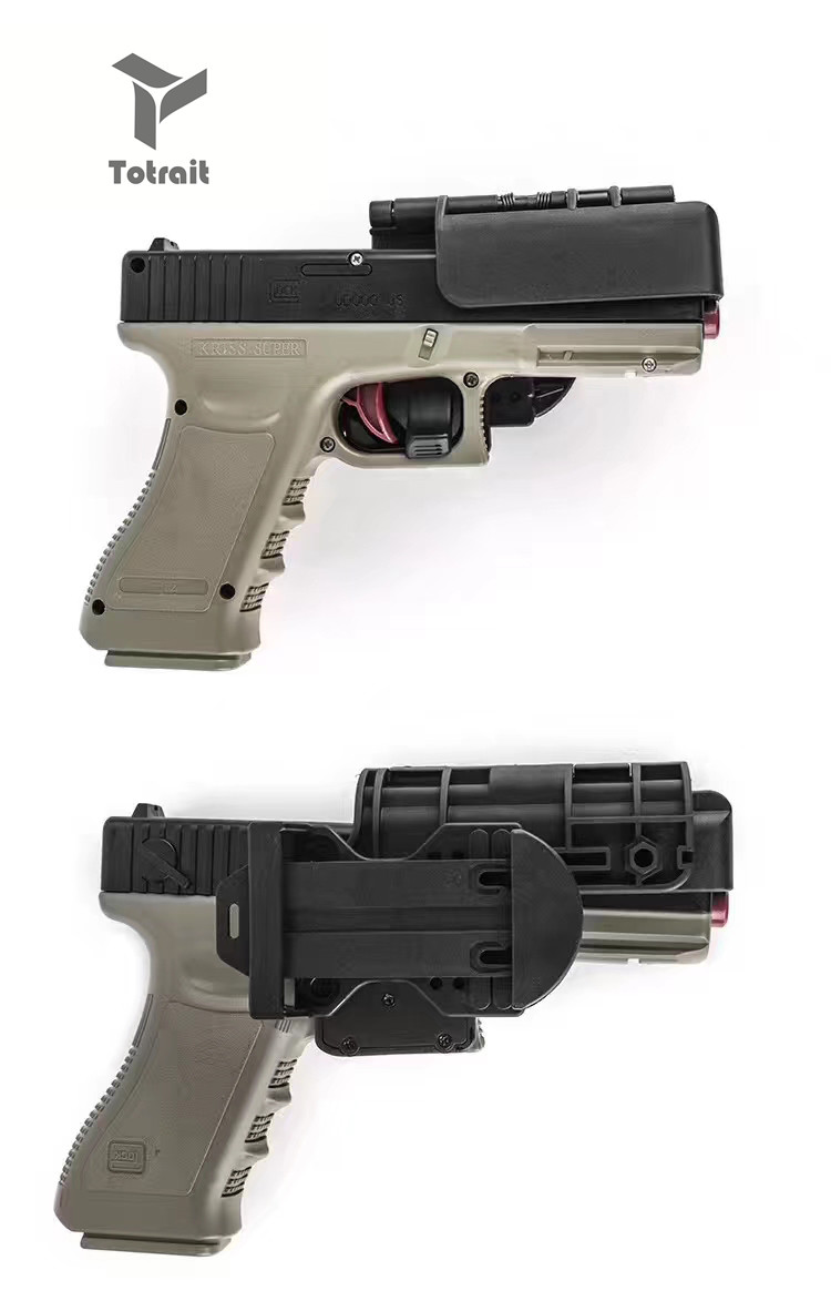 Tactical OWB Condition 3 Carry Quick Holster Right Hand Fit For Glock 19 / 34/17/22