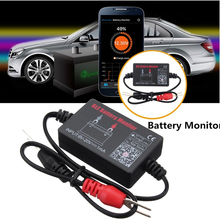 Tester Battery Car Bluetooth 12v Electric Circuit Cranking Test for Android IOS Diagnostic Tool Automotive BM2 Battery Analyzer for all cars frequency tester car auto vehicle automotive circuit tester detector battery diagnostic tool