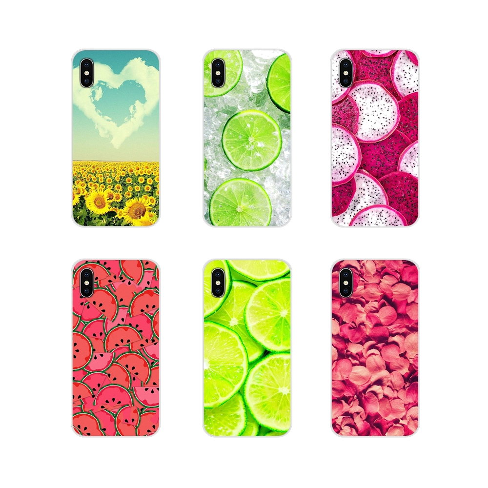 Accessories Phone Cases <font><b>Cover</b></font> For <font><b>Samsung</b></font> <font><b>A10</b></font> A30 A40 A50 A60 A70 Galaxy S2 Note 2 3 Grand Core Prime Flowers Daisy Plants Fruit image