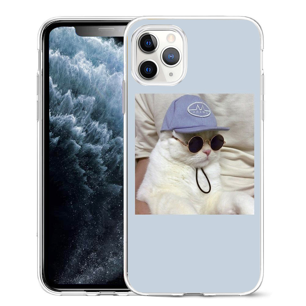 Super Cute Cats Printed Silicone Phone Case For iPhone 12 Mini