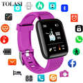 Smart Watch Women 1.3inch OLED ColorScreen Bluetooth Waterproof Sport Smart Watch Bracelet Fitness Tacker For Android Smartwatch