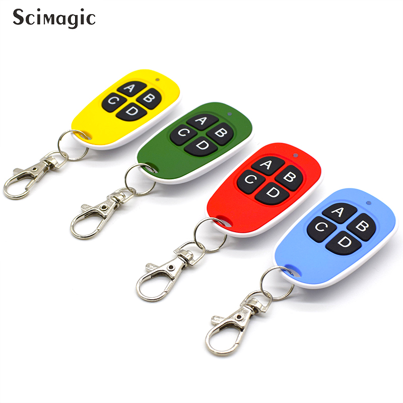 Image 4 - 433.92 Mhz Duplicator Clone Remote Control For ADYX PROTECO CARDIN V2 DEA For Universal Garage Gate remote 433mhz fixed code-in Door Remote Control from Security & Protection