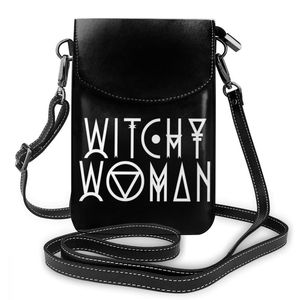 Image 5 - 할로윈 숄더 가방 할로윈 가죽 가방 쇼핑 Crossbody 여성 가방 여성 패턴 동향 지갑