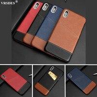 Funda de negocios para Xiaomi 10 Youth Note 10 Pro Lite, carcasa delgada con ranura para tarjetas, para Redmi Note 4X 6 7 Pro S2 Y2 Y3 4A 5A 6A 7A 6 7