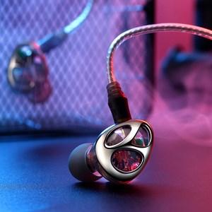 Image 5 - VJJB N30 שלוש יחידה טבעת ברזל אוזניות באוזן Bluetooth כבל בקרת רעש הפחתת HIFI סאב טלפון נייד אוניברסלי