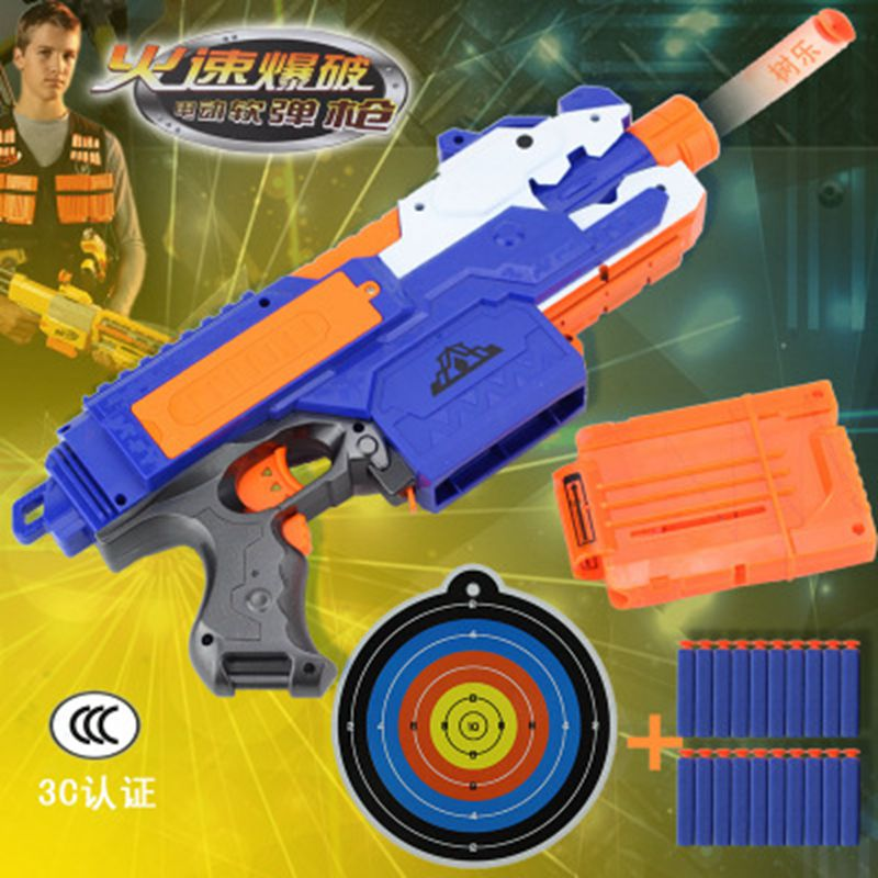 Nerf Gun Toy For Nerf Darts Soft Hollow Hole Head Bullets 7.2cm Refill Darts Toy Bullets Foam Safe Bullet For Nerf Boys Toys