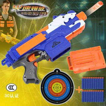 Nerf Gun Toy For Nerf Darts Soft Hollow Hole Head bullets 7.2cm Refill Darts Toy Bullets Foam Safe Bullet for Nerf Boys Toys фото