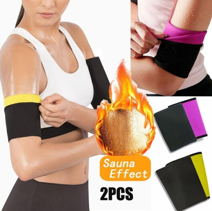 1Pair Women Arm Waist Shaper Slimming Trimmer Shapers Arm Control Shapewear Adelgazar Sleeve Slimmer Arm Pad  Weight Loss