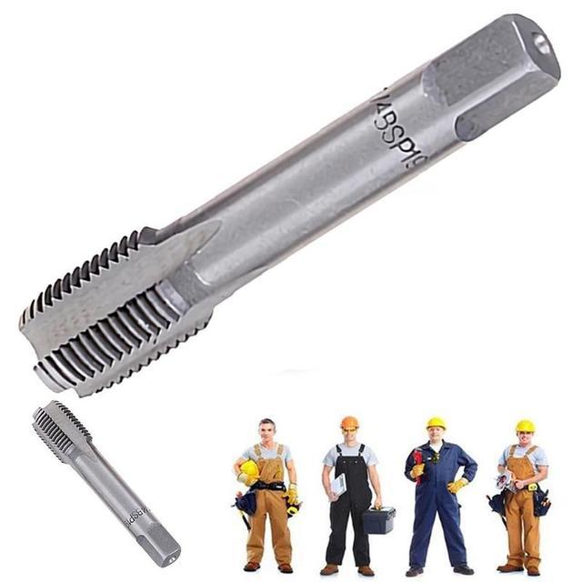 1PC G1 / 8 1/4 3/8 1/2 Hss attacco per tubo conico BSP utensili da taglio per metallo filettato tubo per rubinetto conico