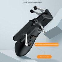 Bakeey H11 Sei Dito PUBG Controller Trigger Gamepad Per Il Rilievo di Apple Tablet FPS Maniglia del Gioco Console di Video Giochi Accessori