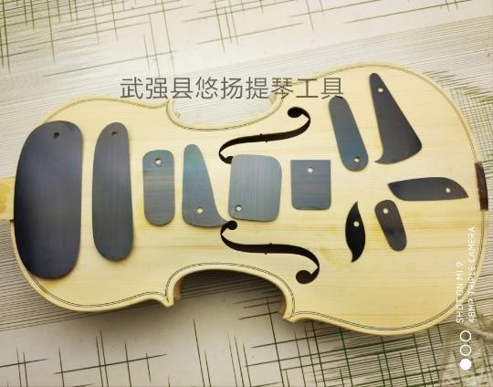 Violin/Cello Making Tools, 11pcs Various Functions Scraper, Board Scraping Cutter