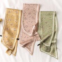 2020 Top Women Adult Animal Novelty 60cm-80cm Winter Hijab New Korean Version Small Silk With Like Bandana Pashmina Foulard