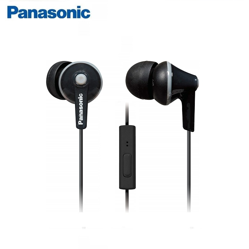 Original Panasonic RP-TCM125 In-Ear Earbuds Headsets Music Earphones 3.5mm Universal For Samsung Xiaomi Huawei Mobile Phone