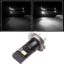 цена на H7 Led Bulb Headlight Lamp Fog Light Foglight Px26d 12V 24V 6500K Car Fog Lights Driving Day Running Lamp Auto Led H7 Bulb