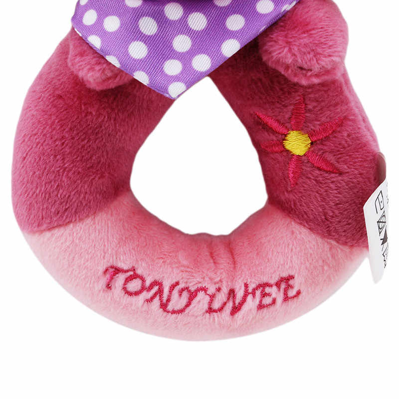 Heißer Verkauf Baby Rasseln Handys BB Sticks Weiche Kuh Plüsch Puppe Krippe Bett Hängen Hand Fänge Tier Spielzeug Puppe Kinder spielzeug
