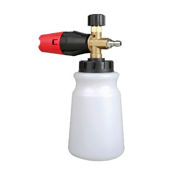 800ml myjnia wysokociśnieniowa pistolet do piany myjka samochodowa czysta pianka śnieżna Lance spieniacz Generator 1 4 szybkie złącze tanie i dobre opinie JimBon