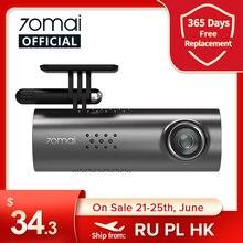 70mai — 1S Caméra intelligente voiture à controle vocale en anglais, 1080P, dashboard cam pour auto qui embarque le WiFi et enregistre le tableau de bord avec des vidéo DVR de qualité