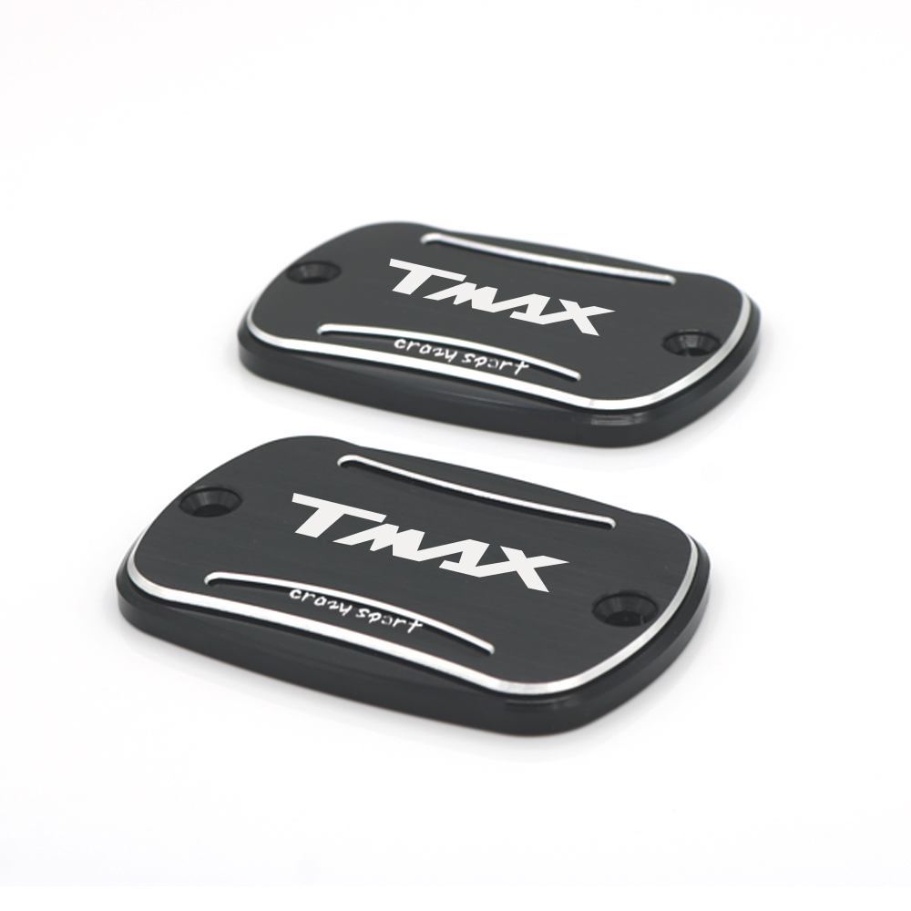 Front Brake Reservoir Cover For YAMAHA TMAX <font><b>T</b></font>-<font><b>MAX</b></font> 500 <font><b>530</b></font> SD XD 530SD 530XD2017-<font><b>2019</b></font> 2018 Motorcycle CNC Oil Fluid Cap image