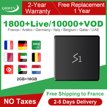 Android 8.1 IPTV 4K Arabic Algeria Belgium France IPTV 1 Year RK3229 2+16G IPTV Box QHDTV Subscription As X96 Mini IP TV French iptv subscription iptv 1 year ip tv box android s905w 4k iptv arabic france belgium netherlands algeria lebanon tunisia ip tv