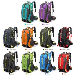 Image 5 - 40l saco de acampamento ao ar livre escalada mochila saco tático à prova dwaterproof água para caminhadas escalada trekking caça das mulheres dos homens sacos de desporto