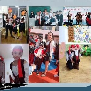 Image 5 - 2019 חג המולד נושא יום הולדת תחפושות ילדים בני פיראטים תלבושות קוספליי סט לילדים ליל כל הקדושים חג המולד לילדים ילדים
