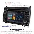 2din Android10.0 четырехъядерный автомобильный DVD для Benz Sprinter W169 W245 W906 Viano Vito W639 B200 с WIFI GPS навигационное Радио 2 грамм CAM
