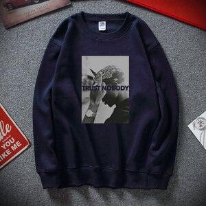Image 3 - Sudadera Moletom Tupac 2 Pac Shakur Trust Nobody Unisex, divertida, de algodón, Polar, novedad de invierno