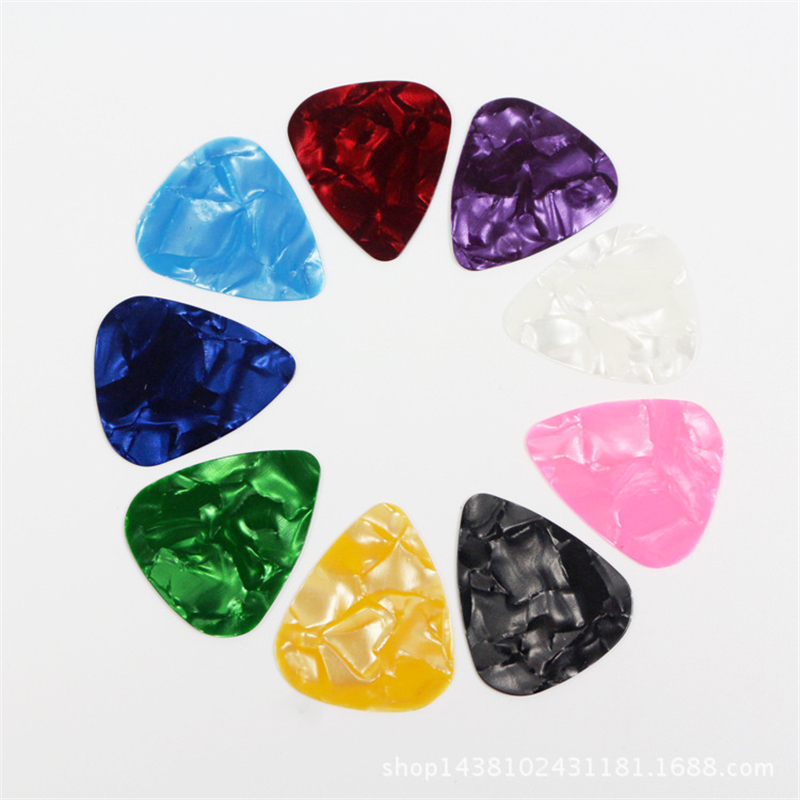 10/20 Pcs/set New Acoustic Picks Electric Guitar Pick Acoustic Music Guitar Pick Accessories 0.5mm 0.75mm 1.00mm Picks Plectrum