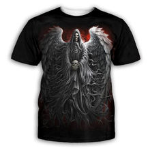 Plstar cosmos Новая мужская летняя футболка с принтом черепа