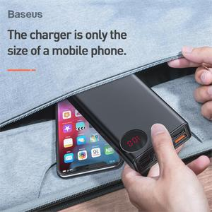 Image 5 - Baseus Quick Charge 3.0 30000mAh Power Bank Type C PD 30000 mAh Powerbank Portable External Battery Charger For iPhone Xiaomi Mi