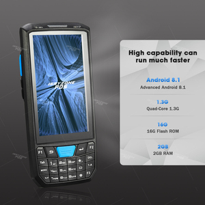 Image 2 - Issyzonepos Handheld Pda Android 8.1 Barcode Scanner 1D 2D Bar Code Reader Data Collector Pos Terminal Magazijn Levering Pda