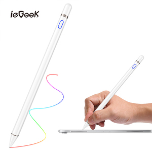 Universal Capacitive Stylus Touch Screen Pen Palm Rejection Smart Pen for Apple iPad Pro Phone Smart Pen Stylus Pencil Touch Pen(China)