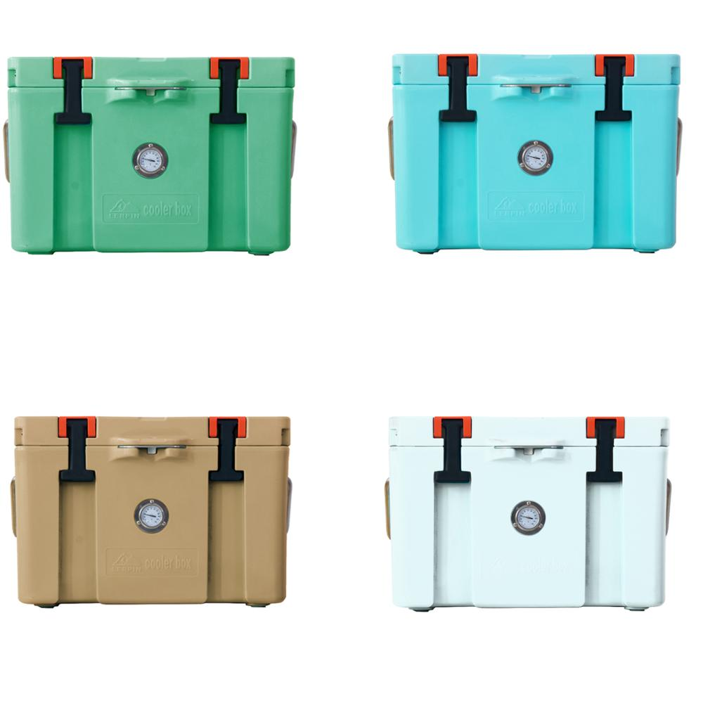 Lerpin 2020 latest  design insulated ice chest roto molded camping cooler box mini fridge-4