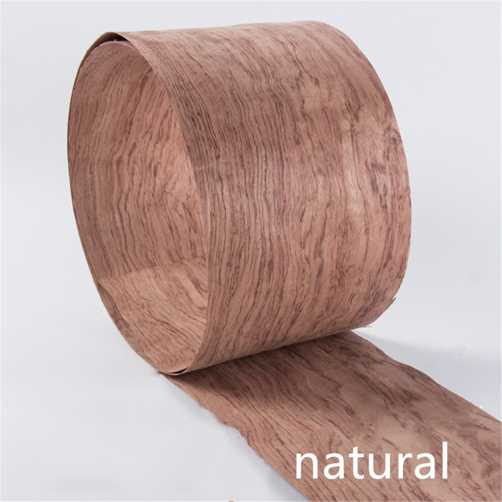 2x Natural Genuine Brazil Bubinga Wood Veneer Furniture Veneer 2.5m 0.4mm Thick