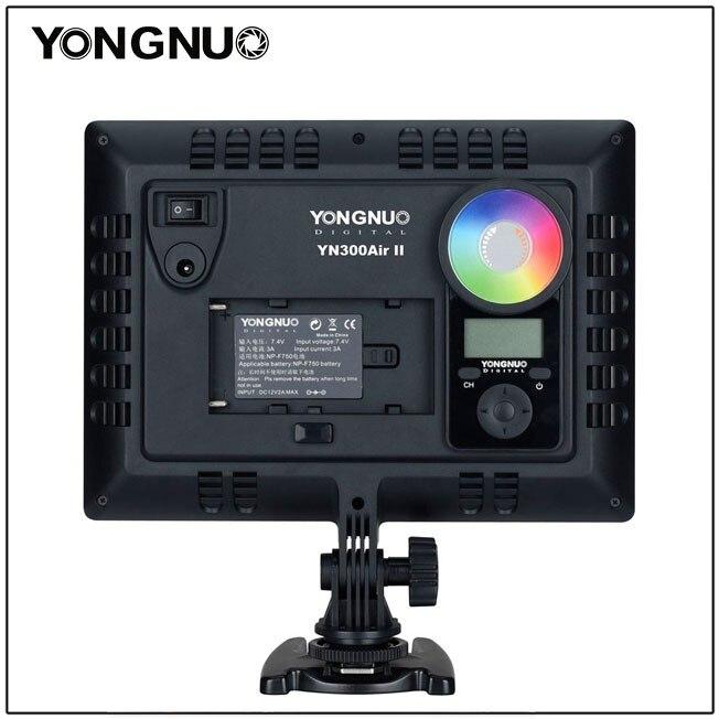 luz de vídeo opcional bateria com carregador