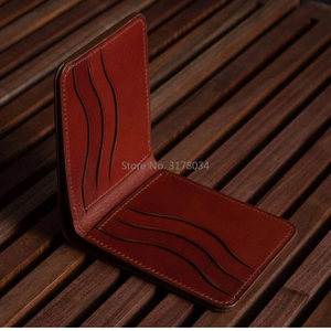 Image 2 - Japan Steel Blade Rule Dies Cut Bifold Wallet Leather Template Craft Punch Hand Tool Cut Knife Mould