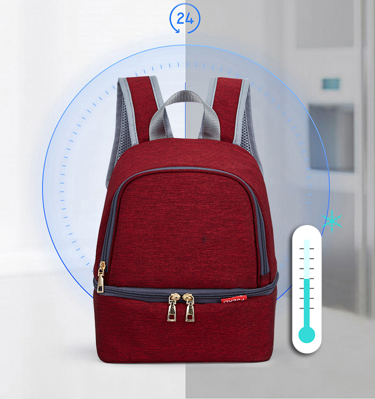 H8de101be9d394041b67989527df2ead5q Fashion Mummy Maternity Diaper Bag Large Baby Bags For Mom Thermal Insulation Travel Nappy Chaning Backpack Stroller Organizer