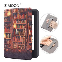 Polssteun Smart Case voor Nieuwe Amazon Kindle Paperwhite 4 Magnetische Flip Hand Cover voor Kindle Paperwhite 10th Generatie 2018(China)