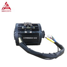 QS Motor 4000W 138 90H mid drive motor for Motorcycle 72V 100km/h