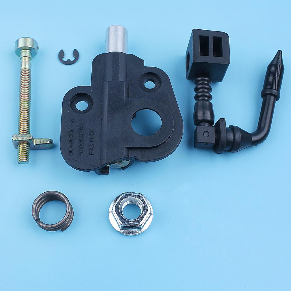 Oil Pump Worm Gear Chain Adjuster Bar Nut Kit For Poulan 2150 2175 2250 1950 2025 2050 2075 PP210 PP220 PP221 Chainsaw Parts
