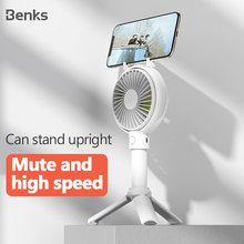 Портативный мини вентилятор benks usb для мобильного телефона