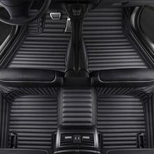 De 5 Asiento alfombra del coche para Mercedes E-CLASS W210 W212 W213 G-CLASS W461 W463 M-CLASS W163 W166 S-CLASS W220 alfombra tapis