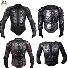 WOSAWE Black Motorcycle Motocross Racing Full Body Protective Armor Jacket Gear Protect Spine Chest Snowboard Ski Skate
