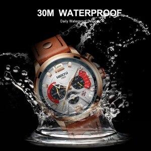 Image 4 - NIBOSI 新しい腕時計メンズブランド腕時計男性用のクォーツ時計男カジュアル軍事防水腕時計レロジオ Masculino