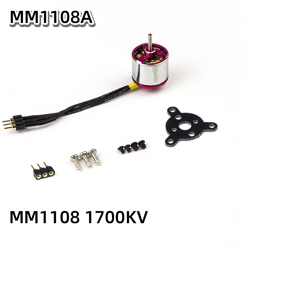 AEORC <font><b>Brushless</b></font> <font><b>Motor</b></font> C05XL 1108 <font><b>1700KV</b></font> 3000KV 1.5mm Shaft <font><b>Brushless</b></font> Outrunner <font><b>Motor</b></font> for RC Aircraft Plane Airplane Multi-copter image