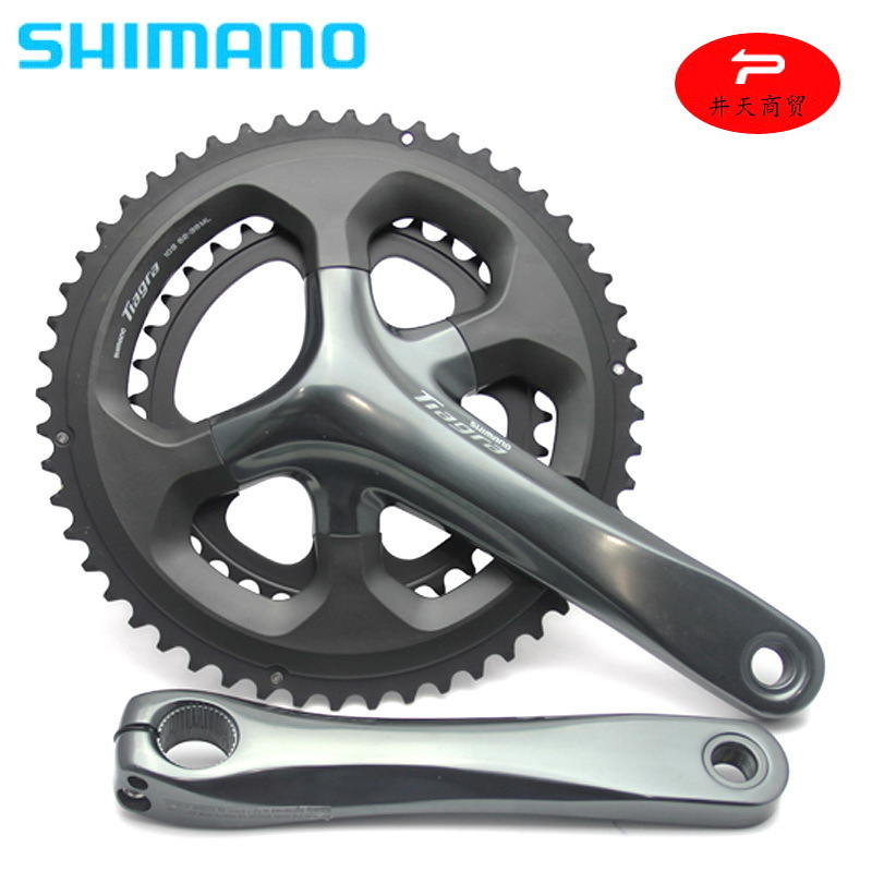 Shimano SHIMANO Tiagra Fc-4700 Crankset 10-Speed 20 Speed Highway Hallow One-piece Crankset Double Disk