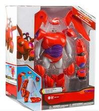 16cm grande herói estatueta 6 baymax figura de ação brinquedo modelo grande branco robô brinquedos para crianças aniversário presente natal