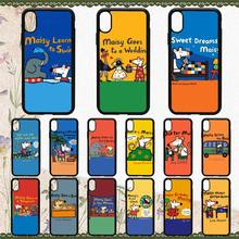 Maiya Maisy Mose Story Comic Black TPU Soft Phone Case Phone Case Cover for iPhone 6S 6plus 7 7plus 8 8Plus X Xs MAX 5 5S XR 10 mose allison mose allison mose sings